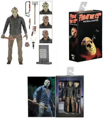 """1:12 NECA Friday the 13th Final Chapter Jason Ultimate 7"""" Action Figure Part 4"""
