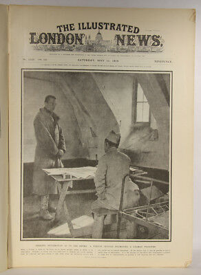 L001820 The Illustrated London News May,11,1918 Seeking Information As To Enemy
