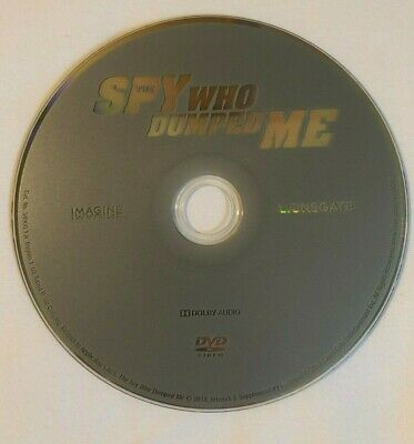The Spy Who Dumped Me (DVD, 2018) DVD only