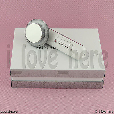 2019 Ultrasonic Micro Current Cavitation Ultrasound Massager LED Lights Therapy