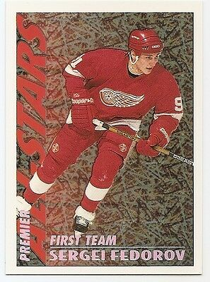 94/95 TOPPS PREMIER SPECIAL EFFECTS PARALLEL Hockey (#1-100) U-Pick from List