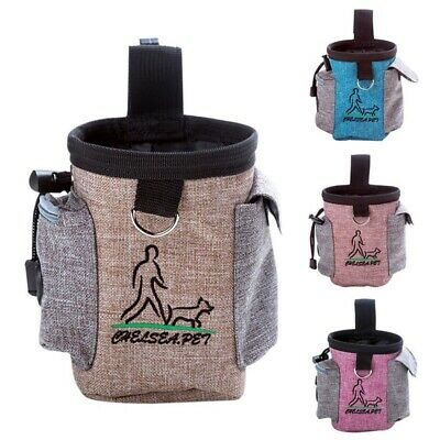Dog Puppy Training Snack Obedience Bait Food Bag Pet Cat Treat Waist Belt Pouch