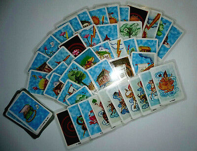 69 Tarot Cards Deck Thai Oracle Future Fortune Telling Gift Game Rare Collecti