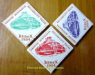 Cinderella/Poster Stamp - Australia 1954 Redex Around Australia Reliability 2218