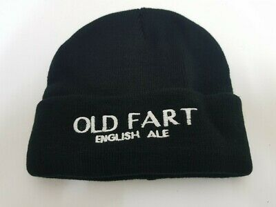 Old Fart English Ale Beanie New Never Used