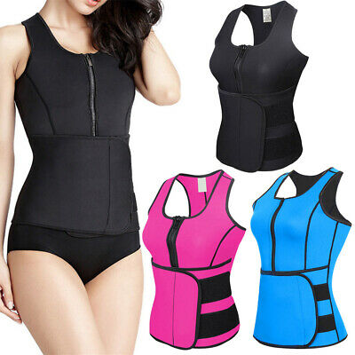 Waist Trainer Corset Sweat Belt Sports Vest Weight Loss For Women Slimming Tops