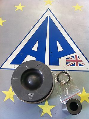 Land Rover 2.7 New Piston With Rings - Standard Size Oem Made In Eu