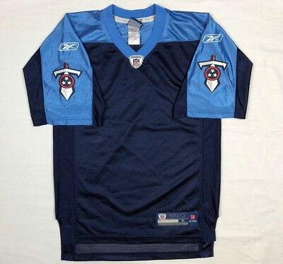 sale retailer 8f366 845ab TENNESSEE TITANS FOOTBALL Jersey Replica Blank Blue - $14.99 ...