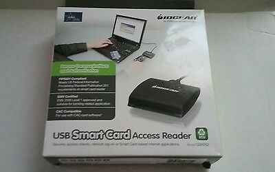 IOGEAR USB Common Access Smart Card Reader GSR202 FIPS 201 PIV III Compliant