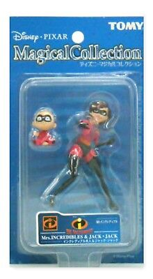 Tomy Disney Pixal Magical Collection Mrs. Incredibles Jack Figure Limited RARE