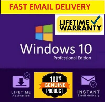 windows 10 pro key professional ✅ 32 and 64 BITS ✅100%GENUINE ACTIVATION Key⭐⭐⭐⭐