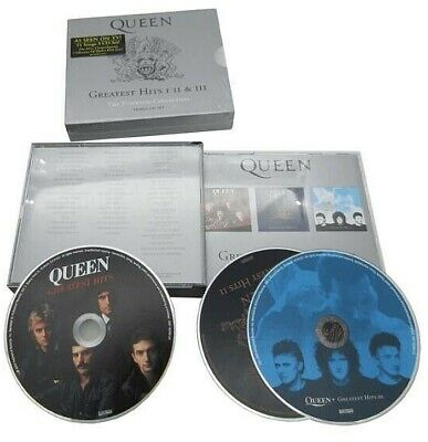 Queen – Greatest Hits 3 x CD Platinum Collection -  REMASTERED Edition SEALED!