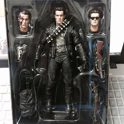 """NECA Terminator 2 Judgment Day T-800 Ultimate Arnold 7"""" Action Figure Doll Loose"""