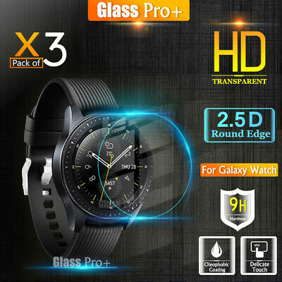 [3 Pack] GLASS PRO+ Samsung Galaxy Watch 42 46MM Tempered Glass Screen Protector