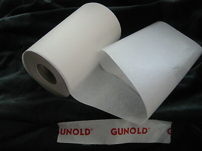 WHITE Tearaway 5m x  21cms GUNOLD Stiffy Medium Weight Stabiliser
