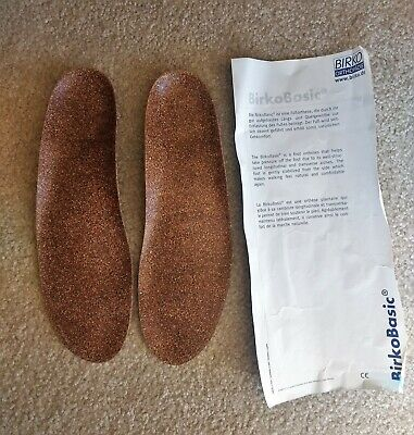 Birkenstock BirkoBasic Full Support Insoles Standard Moulded Cup Size Regular 45