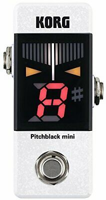 KORG small pedal tuner Pitchblack mini pitch black mini PB-MINI-WH White