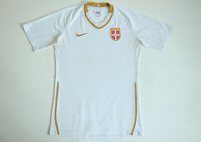 6f7cfe924b6 Serbia National Team 2008 – 2009 Away Player Issue Nike Shirt size Adult  Large L