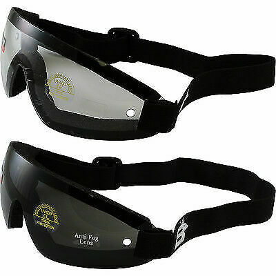 2 Skydive Sky Diving Goggles Clear Lens And Smoke Lens Skydiving New