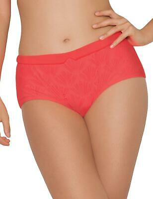 Curvy Kate Swimwear Siren Bikini Short Brief Bottoms CS3303 Coral UK 22