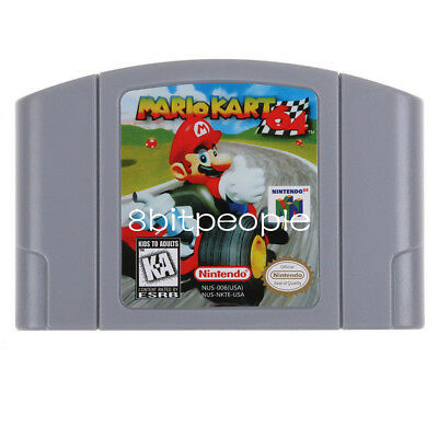 Mario Kart 64 - Nintendo 64 Video Game Cartridge for N64 Console US Version
