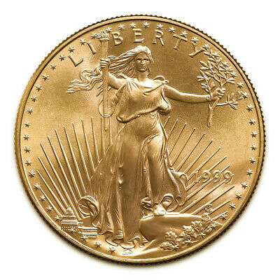 1999 American Gold Eagle 1/10 oz Uncirculated