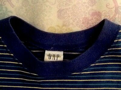 Baby Gap Boys 4 4T Tee Shirt Long Sleeves Striped Adorable Top Cotton