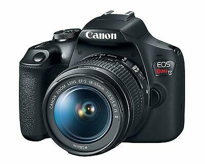 Canon EOS Rebel T7 24.1MP Digital SLR Camera with EF-S 18-55 IS II Lens