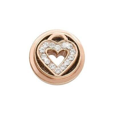 Nikki Lissoni Love Keeper Rose Gold Plated Ring Coin RC2008RG