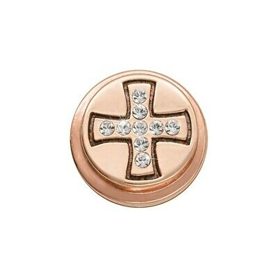 Nikki Lissoni Celtic Cross Rose Gold Plated Ring Coin RC2010RG