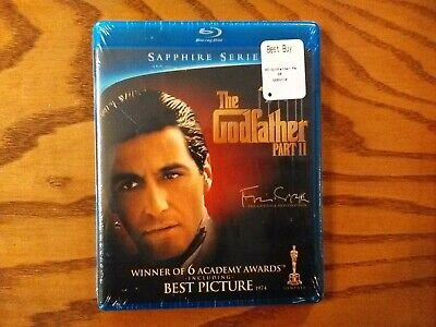 The Godfather Part II (Blu-ray Disc, 2010, Coppola Restoration) NEW! Al Pacino