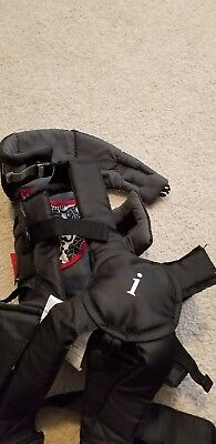 40b42d67c20 INFANTINO SWIFT CLASSIC Infant Baby Front Carrier Black Reversible ...