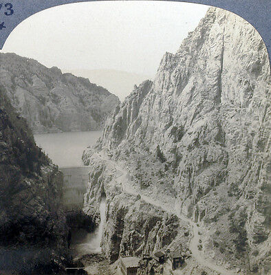 Carlsbad Caverns From 1930/'s Scenic America Set Keystone Stereoview Icicle Room