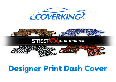 Coverking Designer Print Front Dash Cover for Chevy Astro
