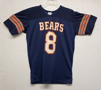 VTG 80s Rawlings CHICAGO BEARS Jersey NFL Men's Medium 100% Polyester RARE USA