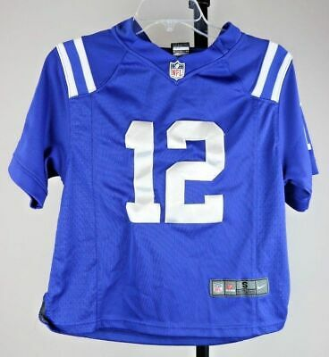 a031b6a1 YOUTH INDIANAPOLIS COLTS Andrew Luck Small Stitched Jersey Royal Blue Nike  NFL