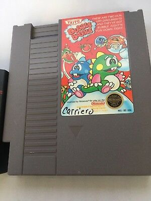 Bubble Bobble (Nintendo Entertainment System, 1988) Tested and Plays Fine