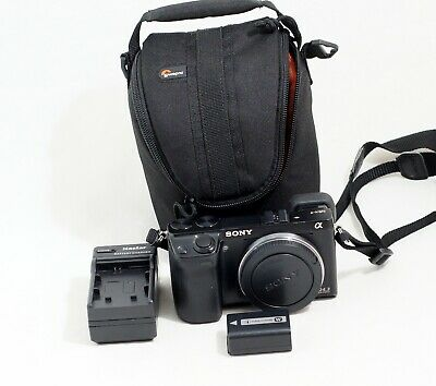 Sony Alpha NEX-7 24.3MP Digital Camera Black Body ONLY 11K SHUTTER COUNT