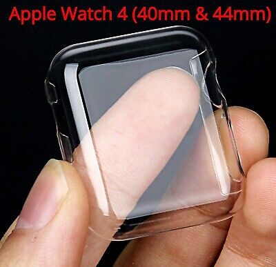 Apple Watch 4 Screen Protector Shield Cover Case Firm clear Iwatch 40mm 44mm PC
