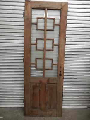 ANTIQUE DOOR - 200 YEAR OLD ANTIQUE TIMBER DOOR FROM HUNGARIAN CASTLE, St1