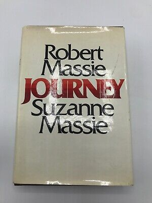 Journey By Robert And Suzanne Massie, 1975 Hardcover Signed Good Cond