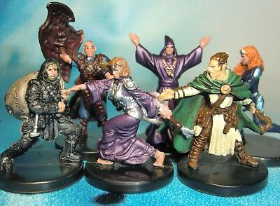 FEMALE HUMAN AVENGER D&D Miniature Dungeons Dragons pathfinder
