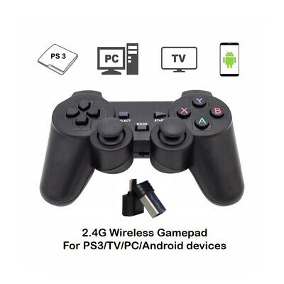 2.4G Wireless Remote Controller Gamepad Joystick for Android PC PS3 TV Seraphic
