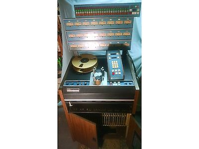 3M Mincom M79 24 TRACK 2 INCH TAPE MACHINE RECORDER RAN WELL WHEN PARKED AS IS