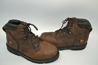 c40c0fcff1a TIMBERLAND PRO 33034 Pit Boss Steel Toe Men's 24/7 Work Boots 6