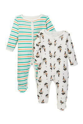 NWT Rosie Pope Baby Boys' Coveralls 2 Pack