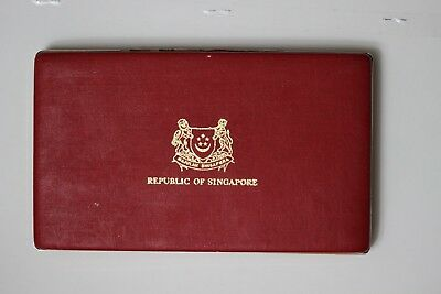 1986 Singapore Silver Proof Set Boxed & COA (UCA1802M6)