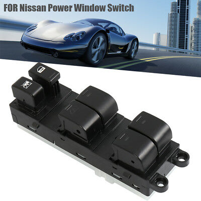 Car Left Master Power Window Control Switch For 2005-2012 Nissan Xterra Frontier
