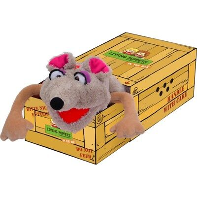 Living Puppet Vallerie Pieps Mouse in the Box Hand Puppet