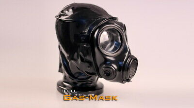 Platex Latex Rubber Gummi Gas Mask NEW RRP £250